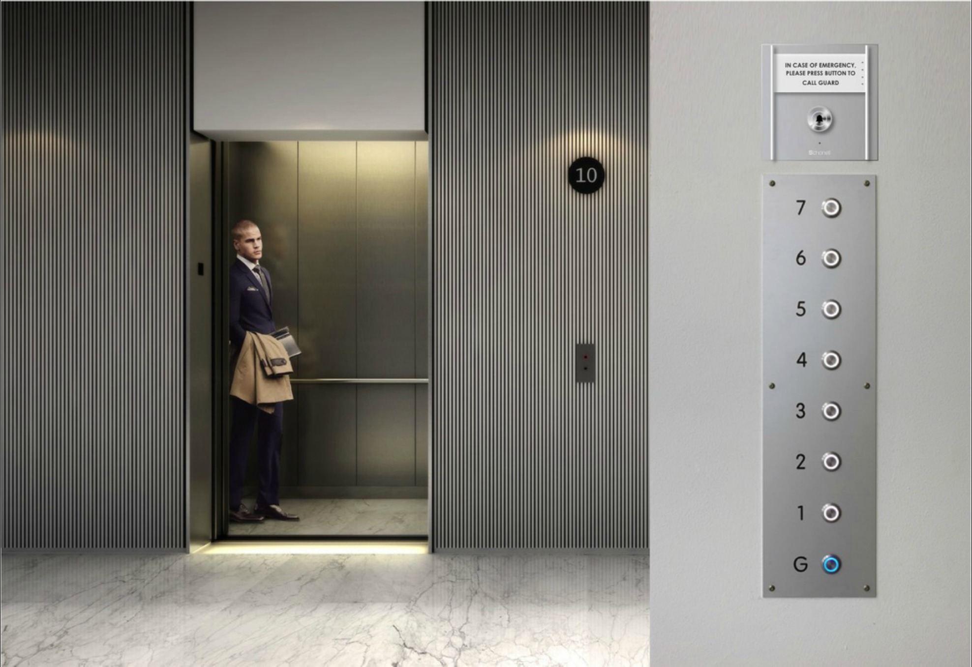 Elevator Intercom Alert | Lift Intercom | Emergency Intercom | Building Intercom | Audio Intercom