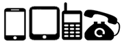 Calls any PSTN phone line | GSM mobile phones