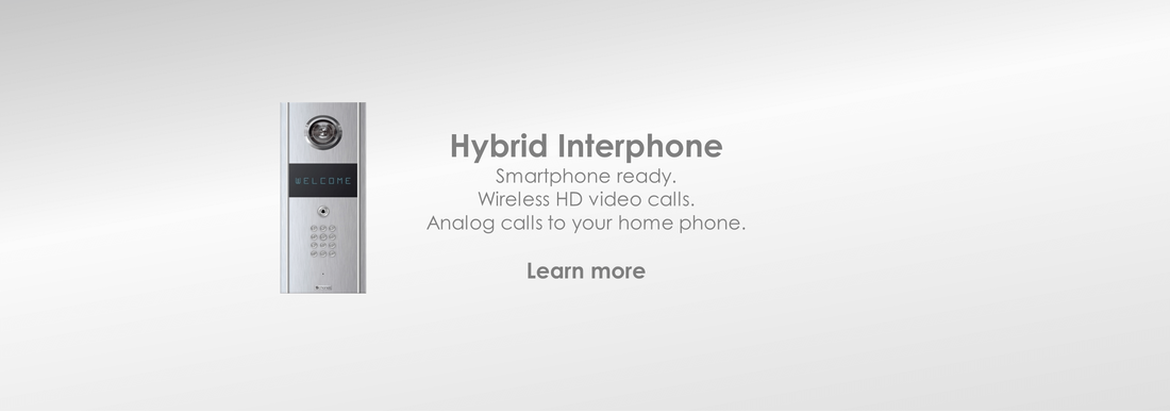Interphone V2100: Video Intercom | Wireless Intercom | Intercom App | Video calls | Wireless access | Call forwarding