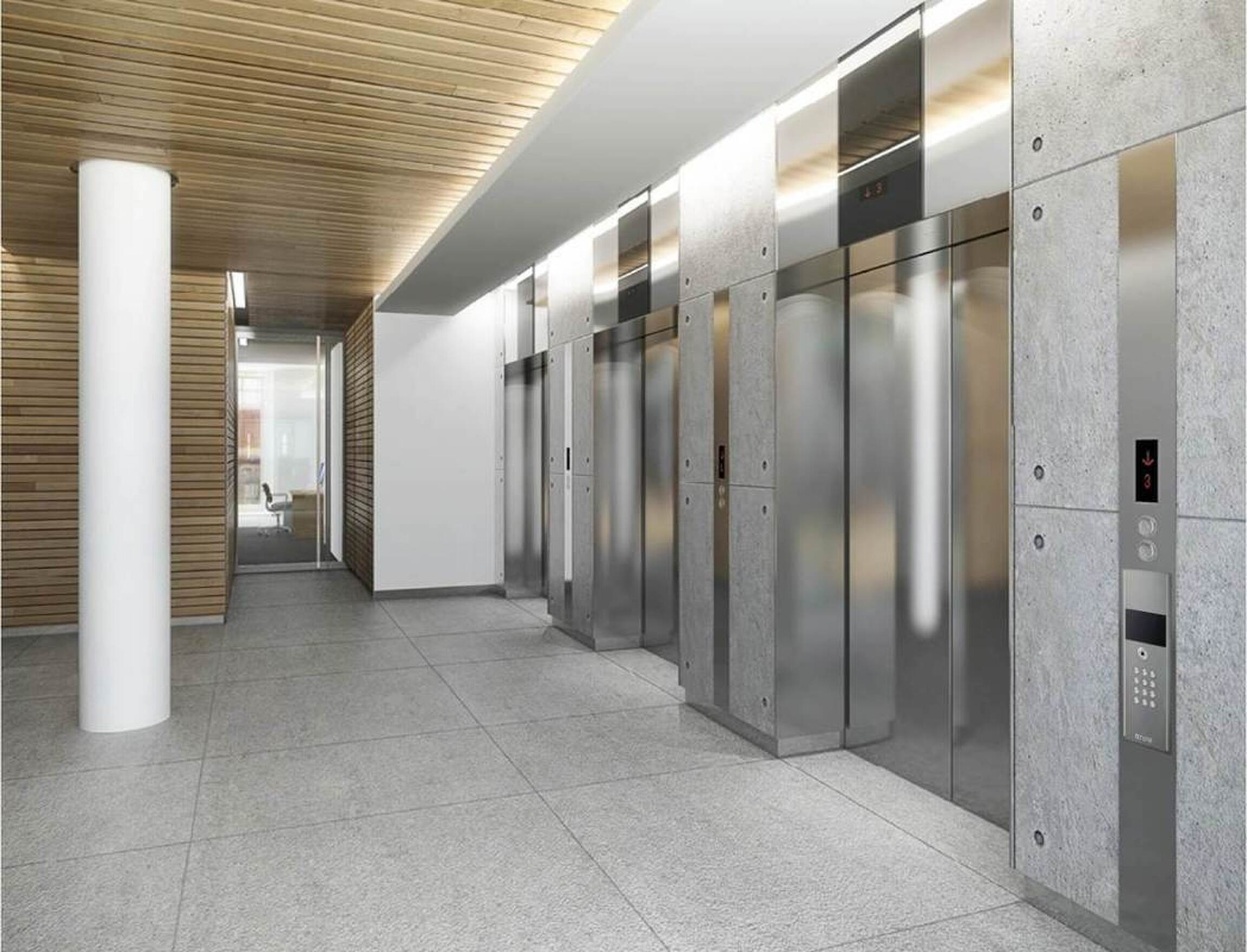 Telephony Interphone Lift Lobby | Commercial Building Intercom | Office Intercom Systems