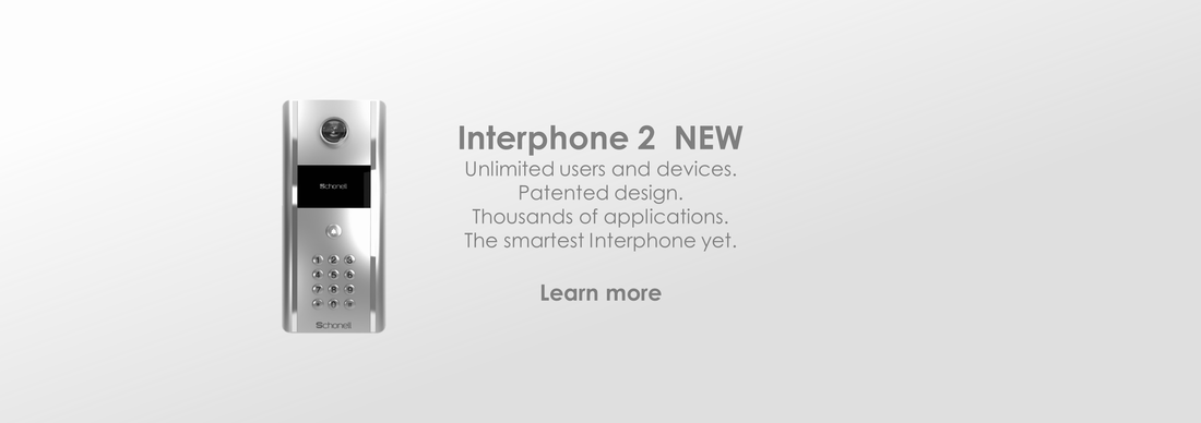 Products: Interphone 2: Patented Design | Thouands of Intercom Applications | Developed to Perfection