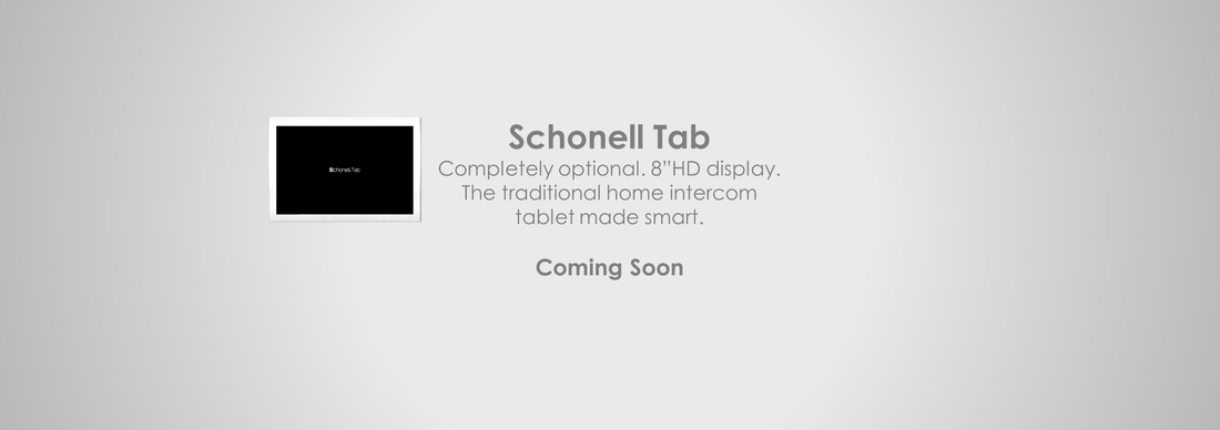 Schonell Tab | Home tablet | HD IPS LCD | Indoor station